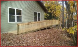 Handicap Ramps and Porch Construction and Remodeling